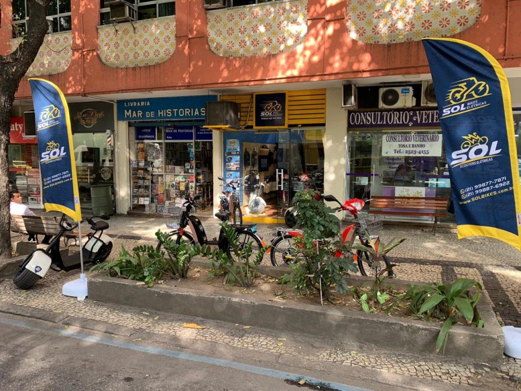 Sol Bikes Elétricas em Copacabana - RJ